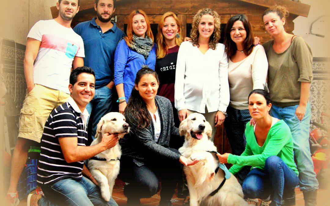 Proyecto de Terapia Asistida con Animales con TRISKELL