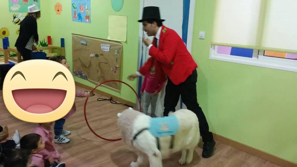Actividades con Centro de Educación Infantil Nube de Algodón