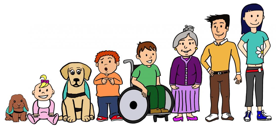 Grupos de personas a las que Gran Ayuda puede asisitir: todas las edades